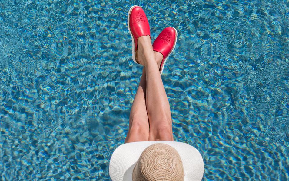 MASTERS OF CASUAL Sandale de piscine Jeux et confort Piscine et Spa  |