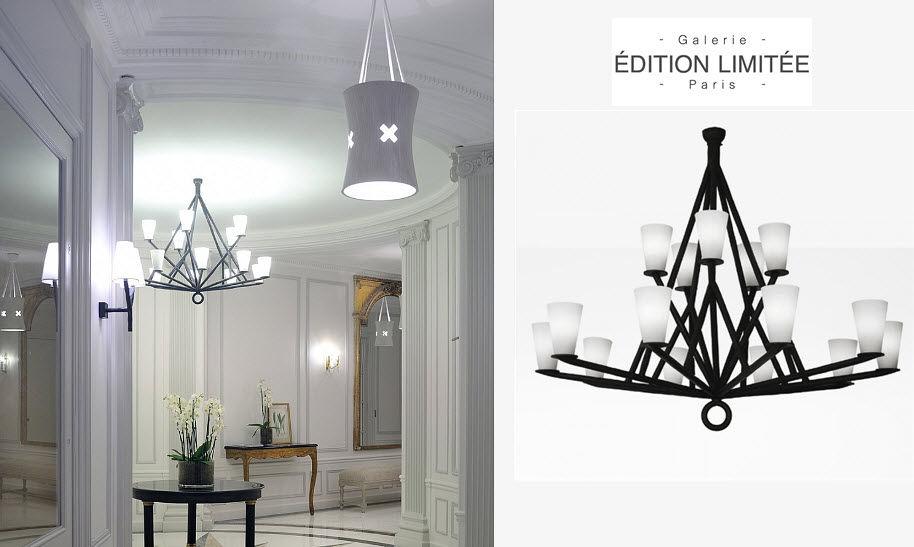 Galerie Édition Limitée Paris Lustre Lustres & Suspensions Luminaires Intérieur  |