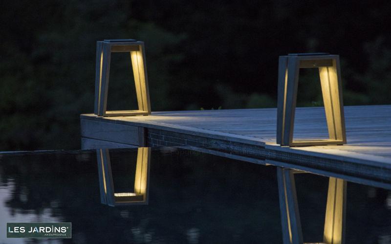LES JARDINS Lampe de jardin Luminaires de sol Luminaires Extérieur  |