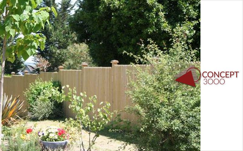 Concept 3000 Clôture pleine Clôtures Bordures Jardin Abris Portails...  |