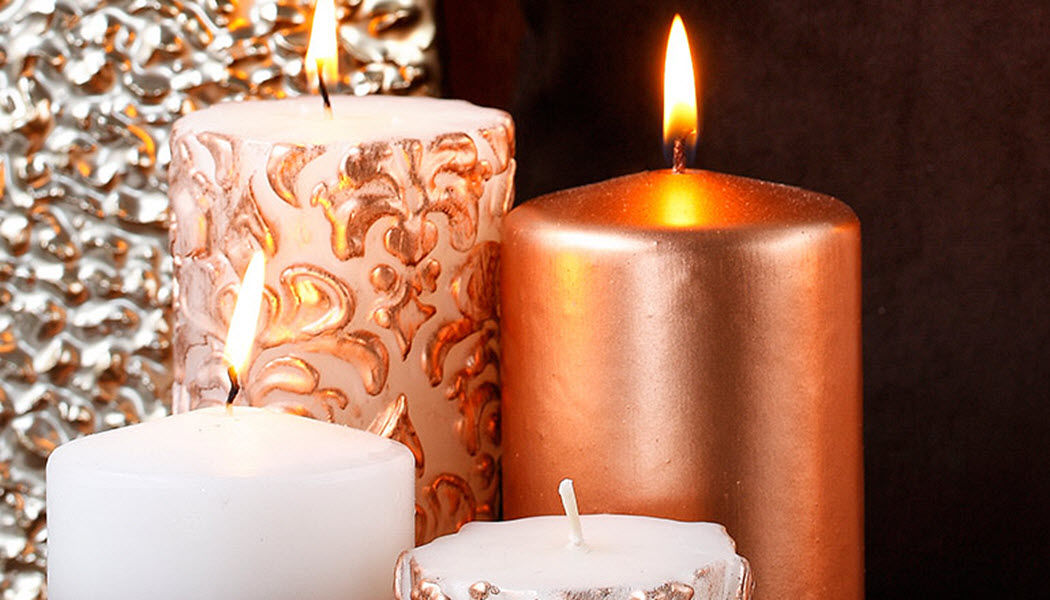 TRILYA Bougie Bougies Bougeoirs Objets décoratifs   