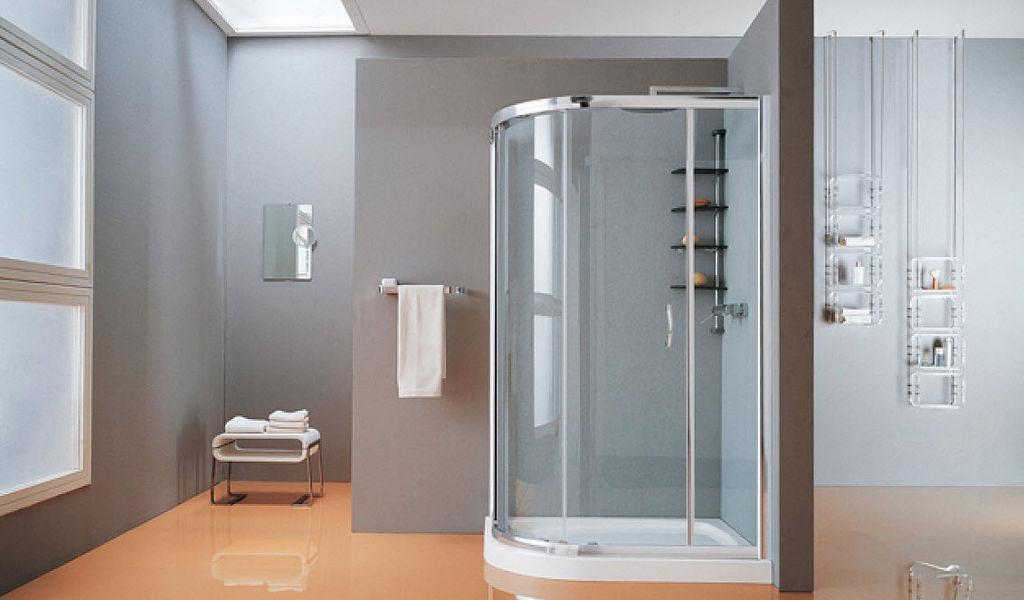 Samo Cabine de douche d'angle Douche et accessoires Bain Sanitaires  |