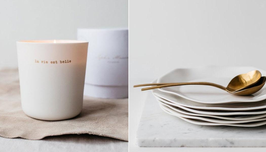 SOPHIE MASSON PORCELAINE Assiette plate Assiettes Vaisselle  |