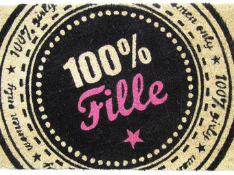 Recrea - paillasson 100% fille en coco et vinyle 72x42x1,5c - Paillasson