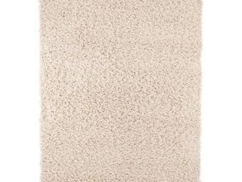 WHITE LABEL - tapis design soft large - cr�me - Tapis Contemporain