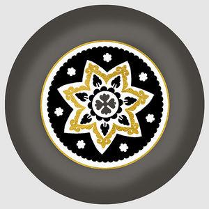 Design Atelier - golden star - Assiette Décorative