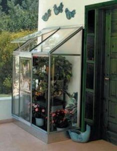 Chalet & Jardin Serre adossée