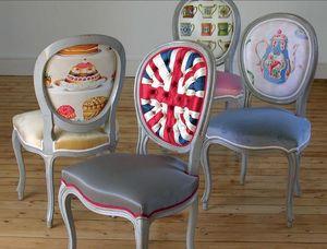 Chaise médaillon