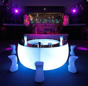 Er2m Comptoir de bar lumineux