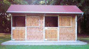 Box à cheval