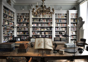 Bibliothèque coulissante