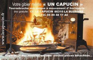 Le Capucin Tournebroche