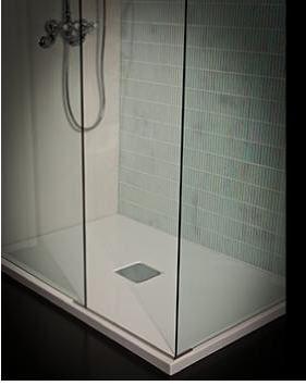 Douche l 39 italienne douche et accessoires decofinder - Prix douche a l italienne ...