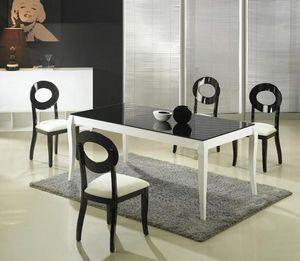 MEUBLEZ.COM - hasting - Table De Repas Rectangulaire
