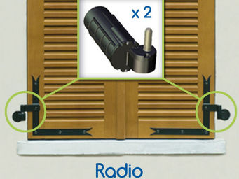 Wimove - kit motorisation volets battants wibat radio - gon - Automatisme Et Motorisation Pour Volet