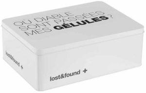 Balvi - boîte à médicaments en métal 31x22,1x11cm - Boite À Pilules