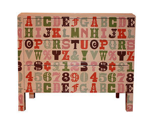 BRYONIE PORTER - alphabet chest - Commode Enfant