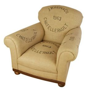 KELLY SWALLOW - french grain sack1963 - Fauteuil Club