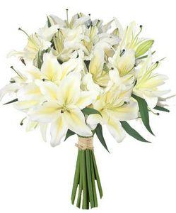 FOLIFLORA - lys blancs - Composition Florale