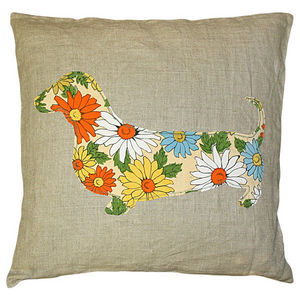 Sugarboo Designs - pillow collection - dachshund - Coussin Enfant