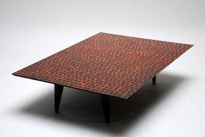 (A+B) FORME ET MATIERE - aborigène - Table Basse Rectangulaire