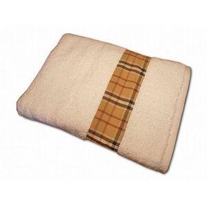 CLARA LINGE - serviette éponge blanche claraberry 520 gr - Serviette De Toilette