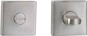DESIGN MAT - rosace carrée sans voyant - Rosace De Porte