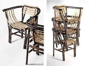 Atelier CHATERS�N - boh�me - Fauteuil Empilable