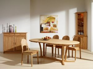 DYRLUND -  - Table De Repas Ovale