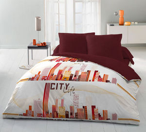 FASHION HOME - city life - Parure De Lit