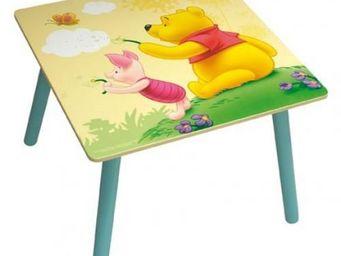 DISNEY - table carre winnie l'ourson - Table Enfant