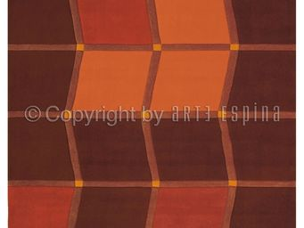 Arte Espina - tapis design brownies square - Tapis Contemporain