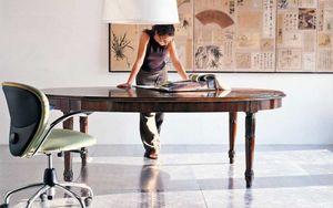 BERTELE' MOBILI -  - Table De Repas Ovale