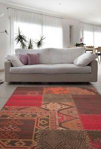 NAZAR - tapis contempo 160x230 red - Tapis Contemporain