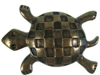 1001 POIGN�ES - tortue - Bouton De Meuble Et De Placard