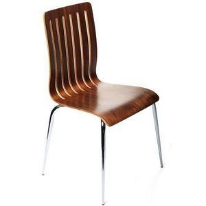KOKOON DESIGN - chaises design bois et métal aero - Chaise