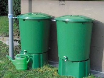 GARANTIA - kit recuperation eau de pluie ensemble de 2 cuves - Récupérateur D'eau