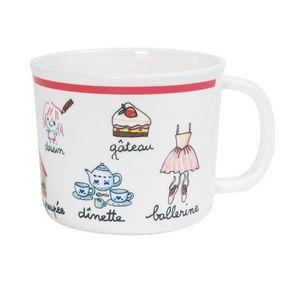 La Chaise Longue - tasse mélamine fille - Assiette Bébé