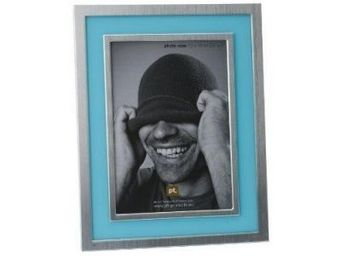Present Time - cadre photo bleu clair 13x18 cm - Cadre Photo