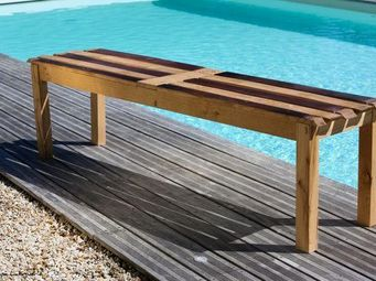 DOUELLES AND DESIGN - le b - Banc De Jardin