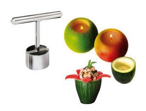 Tellier Gobel & Cie - petit farceur découpoir à fruits et légumes en ino - Ustensiles De Cuisine