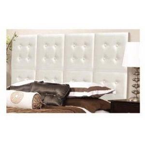 International Design - t�te de lit en kit - couleur - blanc - T�te De Lit