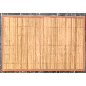 ILIAS - lot de 4 sets de table bambou naturel - Set De Table