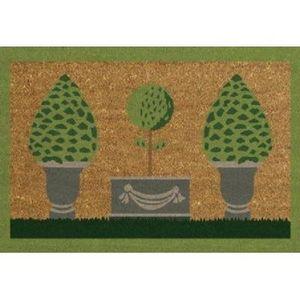 ILIAS - paillasson jardin 40 x 60 cm - Paillasson