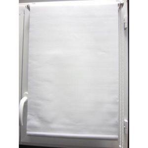 Luance - store enrouleur occultant blanc 45x180cm - Store Enrouleur