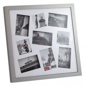 INVOTIS - cadre photos 3d blanc - Cadre Photo