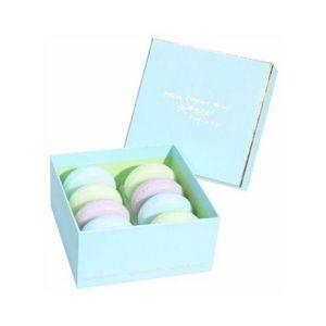 ATELIER CATHERINE MASSON - boîte 8 savons macaron, gourmandise turquoise - at - Savon