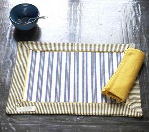 A CASA BIANCA - arezzo lemon placemat - Set De Table