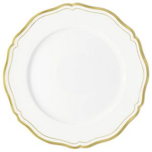 Raynaud - polka or - Assiette De Présentation