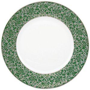 Raynaud - salamanque platine - Assiette Plate